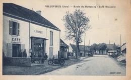 VILLEVIEUX: Route De Bletterans - Café Buandet - Francia