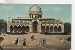 CPA.13.Marseille.Exposition Coloniale.1906.Palais De Madagascar.animé Personnages.Pub à La Concurrence - Mostre Coloniali 1906 – 1922