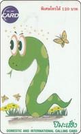 Thailand Phonecard TOT New Nr.227  Schlange Snake - Thailand