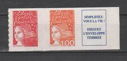 FRANCE / 1997 / Y&T N° 3101b ** Ou AA 16b **: Luquet TVP + 1F Adhésif Dents De Scie (type I) - état D'origine - Francia