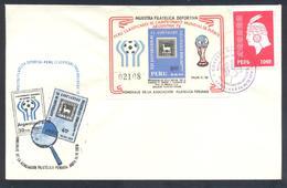 Peru:  Football Soccer Calcio Fussball: FIFA World Cup Argentina 1978 Cover - Coppa Del Mondo