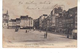 CPA - LISIEUX   -  La Place Thiers Et La Grande-rue - Lisieux