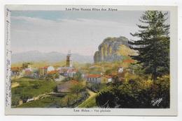 (RECTO / VERSO) LES MEES - VUE GENERALE - CPA VOYAGEE - Francia