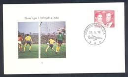 Sweden:  Football Soccer Calcio Fussball: FIFA World Cup Argentina 1978 Cover - Coppa Del Mondo