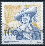 France -  Pierre Dugua De Mons YT 3678 Obl. - Francia
