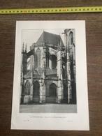 1901 LA FERTE BERNARD EGLISE NOTRE DAME DES MARAIS - Vieux Papiers