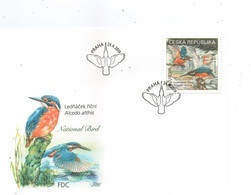 Czech Republic 2019 - Kingfisher, Europa CEPT, FDC - Oiseaux