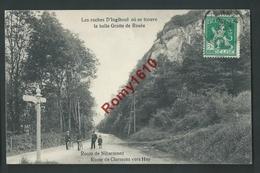 Les Roches D'Ingihoul (Engihoul). La Belle Grotte De Rosée. Routes De Niharmont Et De Clermont Vers Huy. Animation, Vélo - Engis