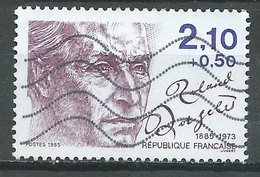 France YT N°2359 Roland Dorgelès Oblitéré ° - Frankreich