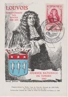 Carte Journée Du Timbre Montpellier 1947 - FDC