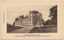 D77 - ECHOUBOULAINS - LE CHÂTEAU TRANSFORME EN HÔPITAL MILITAIRE PENDANT LA GUERRE 1914-1916 - France