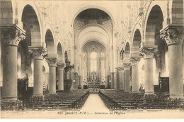 JANZE -  Intérieur De L'Eglise   45 - France