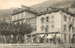 MARTIGNY HOTEL NATIONAL ET PLACE CENTRALE - VS Valais