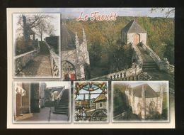 Faouët (56) : La Chapelle Ste-Barbe, Ses Escaliers, L'oratoire Et Un Vitrail - Faouët