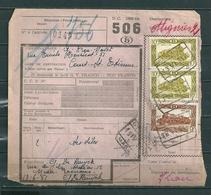 Vrachtbrief Met Stempel Eename - Chemins De Fer
