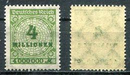 D. Reich Michel-Nr. 316P Postfrisch - Geprüft - Germany