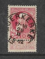 74° Moerkerke  T2R (COBA 50) - 1905 Grosse Barbe