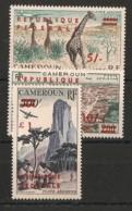 Cameroun - 1961 - Poste Aérienne PA N°Yv. 49 à 51 - Série Complète - Neuf Luxe ** / MNH / Postfrisch - Cameroon (1960-...)