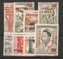 Cameroun - 1961 - N°Yv. 320 à 327 - Série Complète - Neuf Luxe ** / MNH / Postfrisch - Cameroon (1960-...)