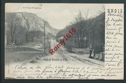 Engis - Les Roches D'Engihoul (Ingihoul) - Route De Neuville En Condroz. Carte Animée - Engis