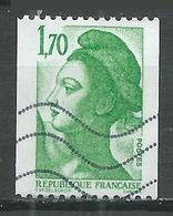 France YT N°2321 Liberté (Roulette) Oblitéré ° - 1982-90 Liberté (Gandon)