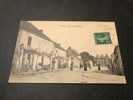 ST YAN Rue De La Mairie - 1911 Timbrée - France