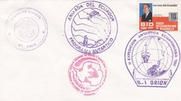 II EXPEDICION ANTARTIDA ECUATORIANA ARMADA DEL ECUADOR  AÑO 1990 - BLEUP - Spedizioni Antartiche