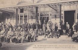 LE TOUQUET PARIS-PLAGE // Concert Donné Par Une Musique Militaire Aux Blessés - Le Touquet