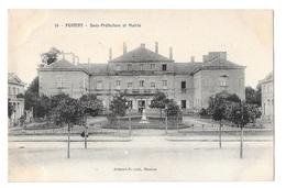 (23938-56) Pontivy - Sous Préfecture Et Mairie - Pontivy