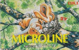 Télécarte Japon / 110-016 - ANIMAL - DINOSAURE **OKI  MICROLINE ** - DINOSAUR Japan Phonecard - SAURIER - 112 - Phonecards