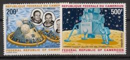 Cameroun - 1969 - Poste Aérienne PA N°Yv. 146 à 147 - Appolo XI - Neuf Luxe ** / MNH / Postfrisch - Cameroon (1960-...)