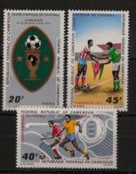 Cameroun - 1972 - N°Yv. 512 à 514 - Coupe D'Afrique De Football - Neuf Luxe ** / MNH / Postfrisch - Cameroon (1960-...)