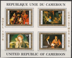 Cameroun - 1976 - Bloc Feuillet BF N°Yv. 10 - Noel / Christmas - Neuf Luxe ** / MNH / Postfrisch - Cameroon (1960-...)