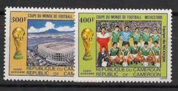 Cameroun - 1986 - Poste Aérienne PA N°Yv. 350 à 351 - Football / Mexico 86 - Neuf Luxe ** / MNH / Postfrisch - 1986 – Mexico