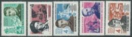 1963 RUSSIA ARMATA ROSSA E EROI SOVIETICI MNH ** - UR1-5 - 1923-1991 URSS