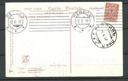 Estland Estonia 1917 Post Card O Revel Tallinn To Fellin Nude Frühling Le Printemps Nait - Estland
