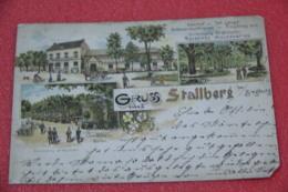 Nordrhein Westfalen Bei Siegburg Gruss Aus Stallberg Gasthof Joh. Langel 1896 - Autres