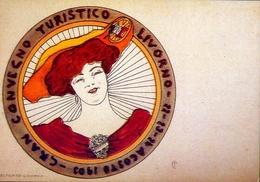 Convegno Turistico Livorno - Italia 1903 - Riproduzione Da Originale - Cartes Postales