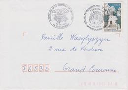 Enveloppe FDC - Chapelle Saint Ser - Puyloubier 22-06-2002 - FDC