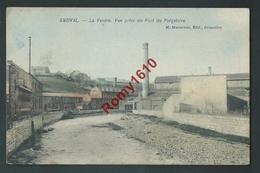 Ensival - La Vesdre. Vue Prise Du Pont Du Purgatoire. Carte En Couleur - Verviers