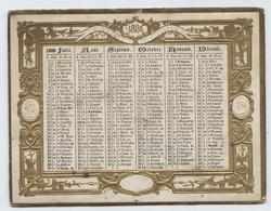 Almanach Des Postes, 1886, Petit Format,13,5 X 10,5 , Oberthur, Rennes - Calendriers