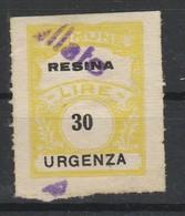 Resina. Marca Municipale Diritti Di Urgenza L. 30 - Italie
