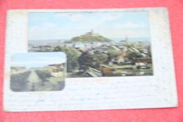 Nordrhein Westfalen Siegburg Gruss Total Und Marktplatz 1904 - Autres