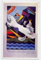 Eolo - Vortici Di Vento Coronati - Altro Dallo Sme - Fausto Giorno - Italia 1926 - Cartes Postales