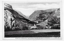 (RECTO / VERSO) VALLEE DE LA ROMANCHE - N° 110 - VUE DE VILLAR D' ARENE - AU CENTRE LA GRAVE - CPA NON VOYAGEE - France