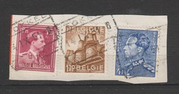 COB 832 Oblitération Chemins De Fer STOKKEL - 1936-1957 Col Ouvert