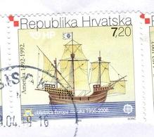 HR+ Kroatien 2005 Mi 734-35 EUROPA - Croatie