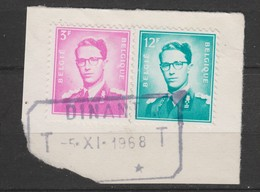 COB 1067 - 1371 Oblitération Télégraphique DINANT - 1953-1972 Lunettes
