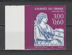 FRANCE / 1997 / Y&T N° 3051 ** : Journée Du Timbre (Mouchon) Avec Surtaxe De Feuille Avec Bord - Gomme D'origine Intacte - France