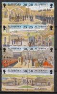 Alderney - 1999 - N°Yv. 138 à 145 - Développement D'Aurigny  - Neuf Luxe ** / MNH / Postfrisch - Alderney